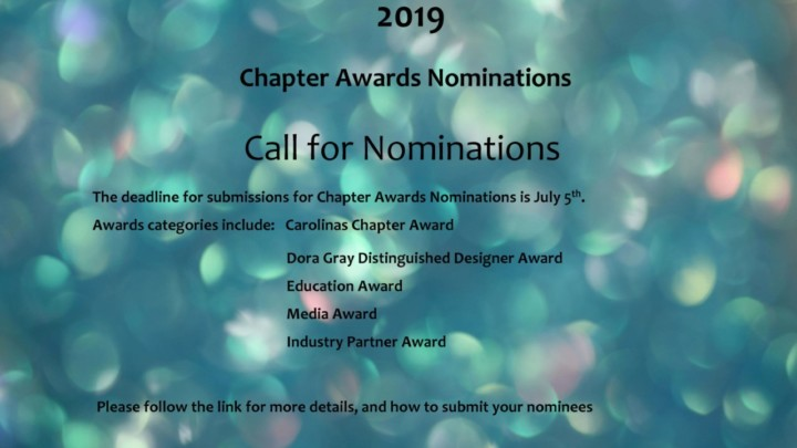 Chapter Awards Nominations 2019