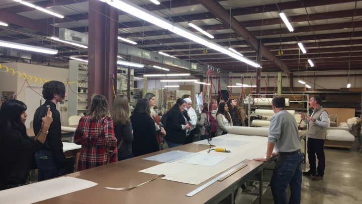 Another Successful Student Event: How to Shop a Showroom