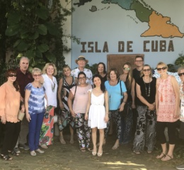 Walking Tour of Ybor City during Chapter Weekend in CUBA